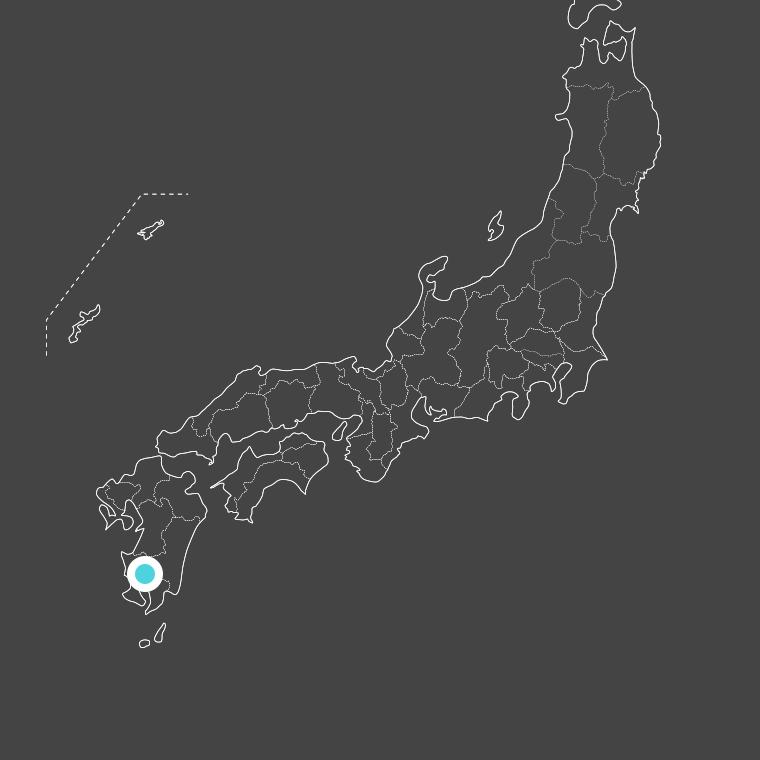 location of 鹿児島県